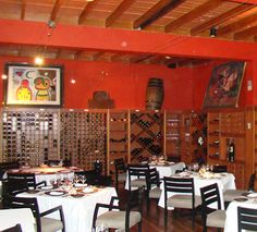 The dining room at a favorite restaurant in Lima, Peru - Astrid y Gaston.  Can't wait to return in April 2012!