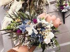 #リストブーケ #ブートニア #プリザーブドフラワー #ドライフラワー Floral Wreath, Wreaths, Photo And Video, Videos, Instagram, Decor, Atelier, Flower Crowns, Door Wreaths