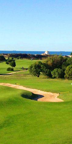 Miramar #Golf course near #Porto, North Portugal