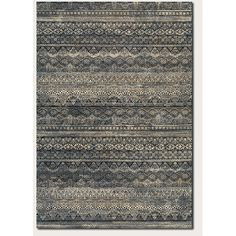 Found it at AllModern - Amasa Black/Gray Area Rug