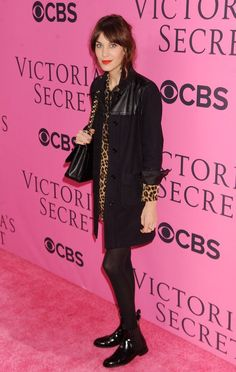 Alexa Chung - Celebs on the Red Carpet at the Victoria's Secret Fashion Show