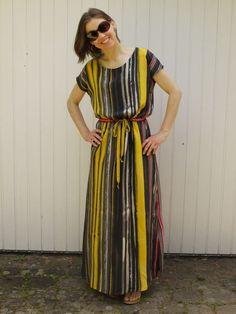 Parcel #3: April Rhodes Staple Dress in maxi length in Italian silk crepe de chine.