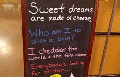 Resultado de imagen para cheese puns