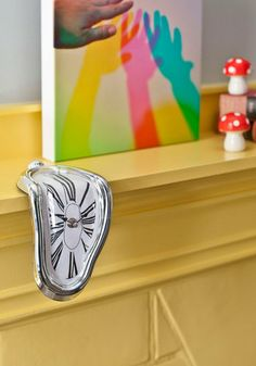 """I kinda want this... And by kinda, I mean """"I really need this""""  In Surreal Time Clock, #ModCloth"""