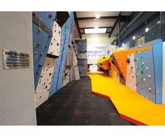 Indoor climbing walls
