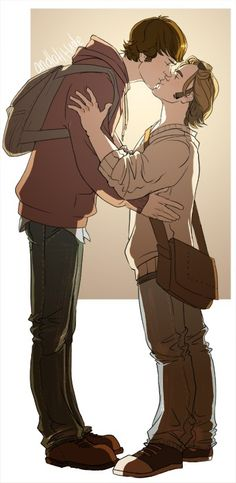 I don't really understand this pairing and how it came to be but I like it. Amd the height thing is cutw. Sabriel