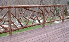 """""""Cracked Ice"""" fence"""