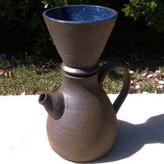 Handmade Ceramic Pour Over Coffee Maker by SaraPilchmanCeramics