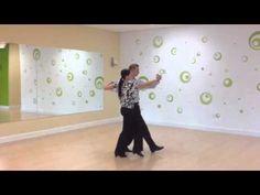 Foxtrot Promenade Twist - YouTube