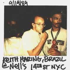 My inspiration and favorite artist of all time: Keith Haring