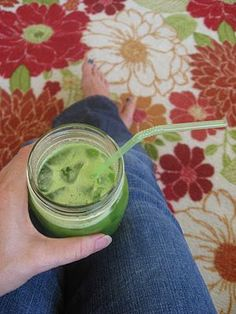 My Go-To Green Juice    ~big bunch of kale   ~2 celery stalks  ~1 regualr cucmber or 1/2 of a large  ~1 green apple  ~1/2 lemon  1 inch chunk of ginger (chunk in pic is too big, it is about 2 inches)  ~~~  1 scoop vanilla plant fusion pea protein powder (optional)  Ice (optional)