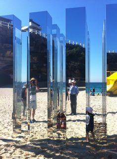 'Kalidoscop' by Alex Ritchie.    Sculptures by the sea Sydney 2012    xc