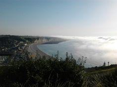 Brume de mer sur Fécamp