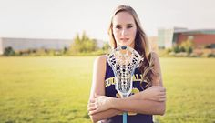 Lacrosse Senior Pictures - Karen Bailey Photography in Naperville