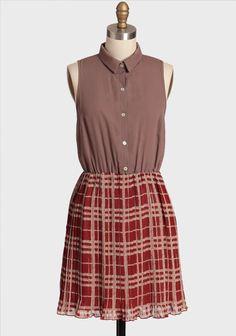 Bloomsbury Pleated Dress at #Ruche @shopruche