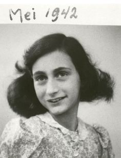 Anne Frank; 12 June 1929 – early March 1945) was one of the most discussed Jewish victims of the Holocaust.  She and her sister died of typhus in Bergen-Belsen concentration camp.  Anne was only 15.  Her diary had been saved, and later published in 1947.