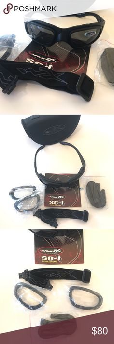 f1d90a55021a Wiley X SG-1 Tactical Glasses NWOT WX SG-1 tactical glasses