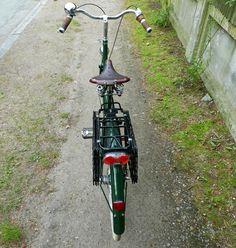 Lovely Bicycle!: Wald Rear Folding Baskets Up Close