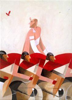 "ziudadano: "" rollersinstinct: "" La Fuga (the breakaway) by Riccardo Guasco. "" Bello """