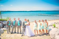 Torch Lake Mi Wedding Photography