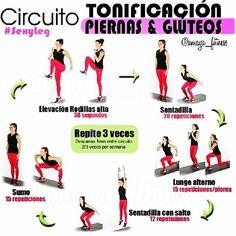 Si quieres tener unas piernas y gluteos espectacularea sigue esta rutina de ejercicios que te ayudara a tonificarlas.