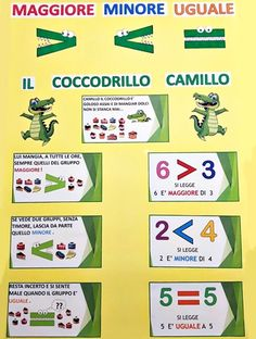 Senses Activities, Preschool Activities, Teaching Kids, Kids Learning, Organize Life, How To Speak Italian, Italian Lessons, Math Strategies, Simple Math