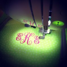 happyhome.blogspot.com ~ Brother PE770 embroidery machine