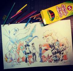 Art by Itsbirdy on IG #art #pokemon #drawing #animedrawing #awesome #amazing #itsbirdy #birdychu