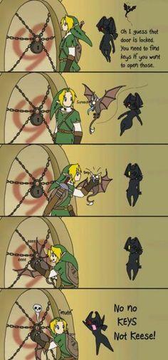 Legend of Zelda twilight Princess humor