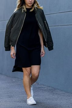 7 Ways to Wear a Bomber Jacket This Fall  via @PureWow