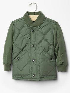 Quilted jacket #BabyGap