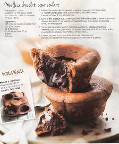 moelleux chocolat coulant tupperware