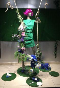 "LUTZ,Vinkeveen, The Netherlands, ""Swing into Summer"", creative styling by Ursula de Vreede, pinned by Ton van der Veer"