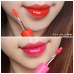 #changmakeup #beauty #lipstick #lip #makeup #swatch #peripera #lumipang #09 #07