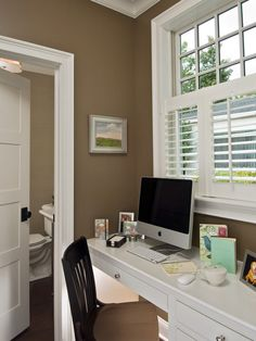 The paint on the walls is VIRTUAL TAUPE #7039 by Sherwin Williams