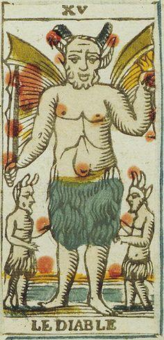 Devil - Tarot de Marseille