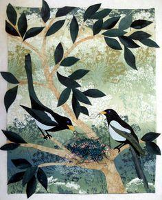 Marjan Kluepfel: Fabric Artist-Quilt Teacher - Trees Gallery