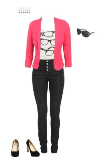 WetSeal.com Runway Outfit:  Rock Out by EdgeTrend. Outfit Price $120.00