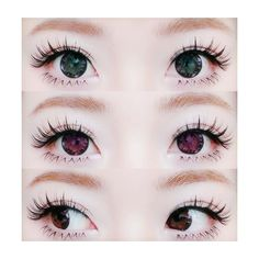 We Heart It ❤ liked on Polyvore featuring beauty products, eyes, makeup, beauty, circle, circular and round