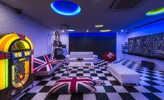 Eastwood, Eclectic Landed House, Living or Gaming Room Interior Design.