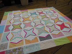 Sweetwater Noteworthy quilt idea