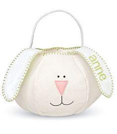 Wholesale Monogrammed Plush Easter Bunny Bag Easter Bunny Easter