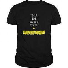 Cool #TeeForDJ DJ Tshirt  Im a DJ… - DJ Awesome Shirt - (*_*)
