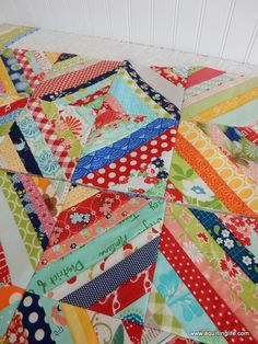 Tips for String Quilts