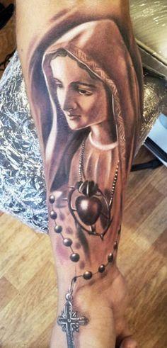 Tattoo Artist - Andrzej Niuniek Misztal - religious tattoo | www.worldtattoogallery.com