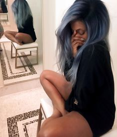 Dope Fashion, Shades Of Grey, Curls, Health And Beauty, Long Hair Styles, Color, Natural Hairstyles, Porn, Gallery