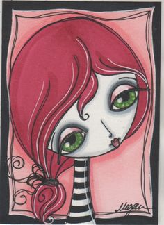 Lots of lovely faces of zombie girls Make Art & Live Happy: cute zombies