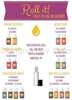 DIGITAL DOWNLOAD  Essential Oil Roller Recipes by DesignedbyLane