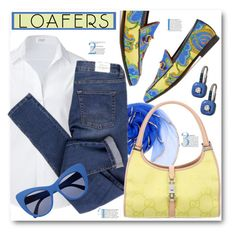 """""""Loafers"""" by brendariley-1 ❤ liked on Polyvore featuring Gucci, Steffen Schraut, Cheap Monday, STELLA McCARTNEY and loafers"""
