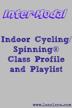 Indoor cycling instructors will appreciate this challenging ride that comes with a free PDF download of the detailed class plan and notes for teaching.